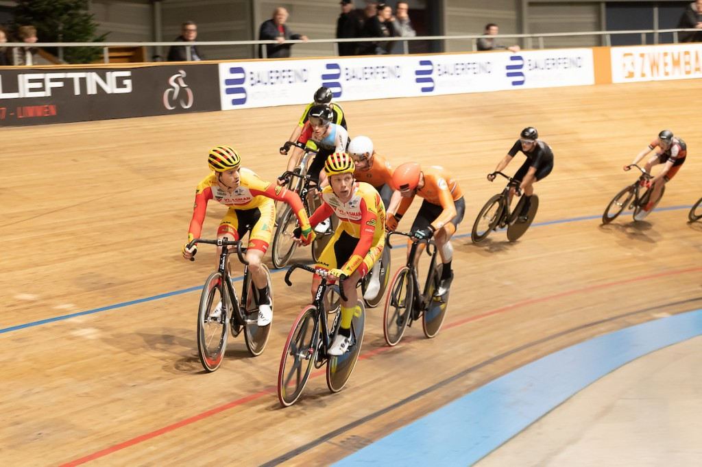 Havik en Stroetinga winnen NK Madison