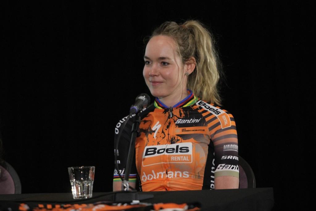 Nederlandse vrouwenteams Omloop Nieuwsblad