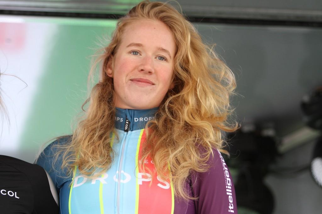 Marjolein van 't Geloof kijkt uit naar Parijs-Roubaix