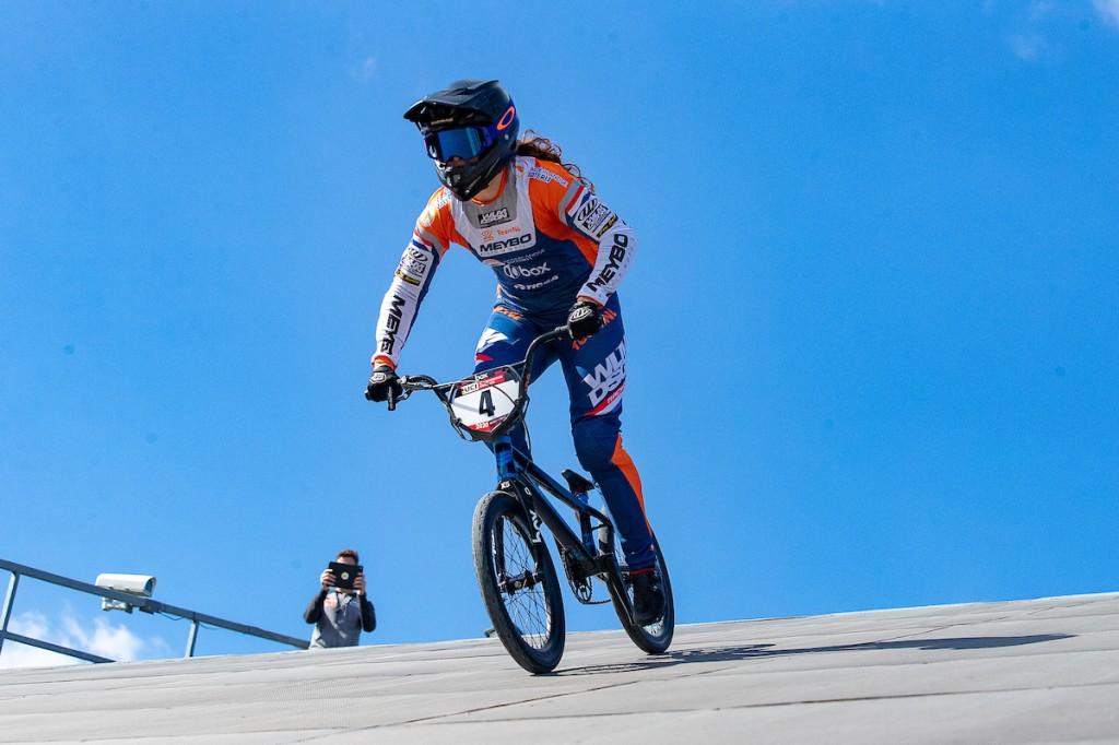 Baauw wint eerste wereldbeker BMX Verona