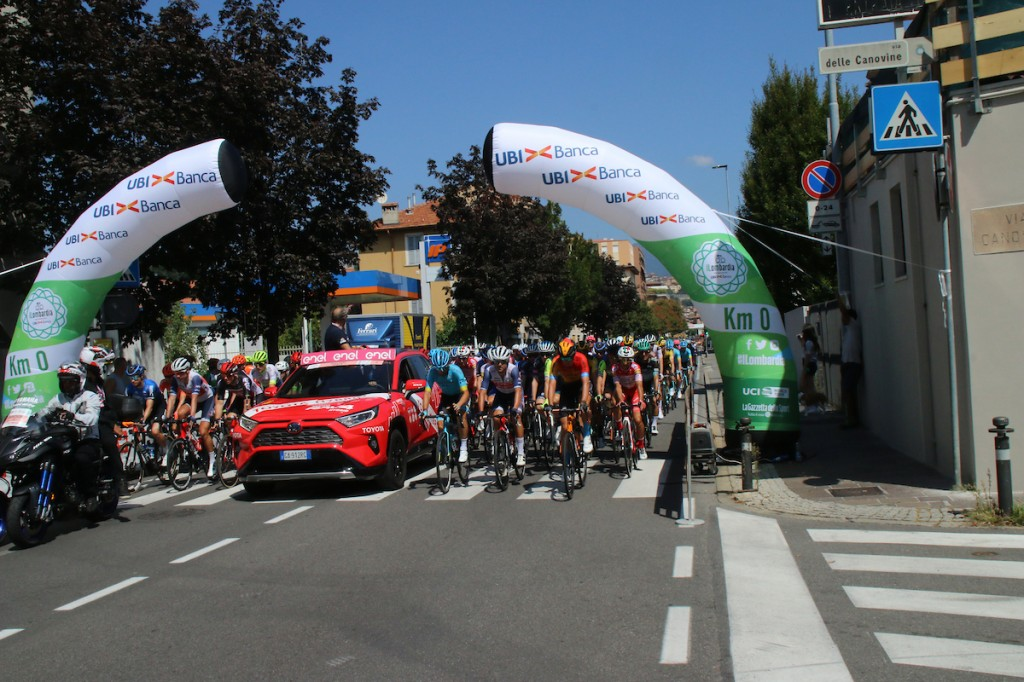 Deelnemers en rugnummers Il Lombardia