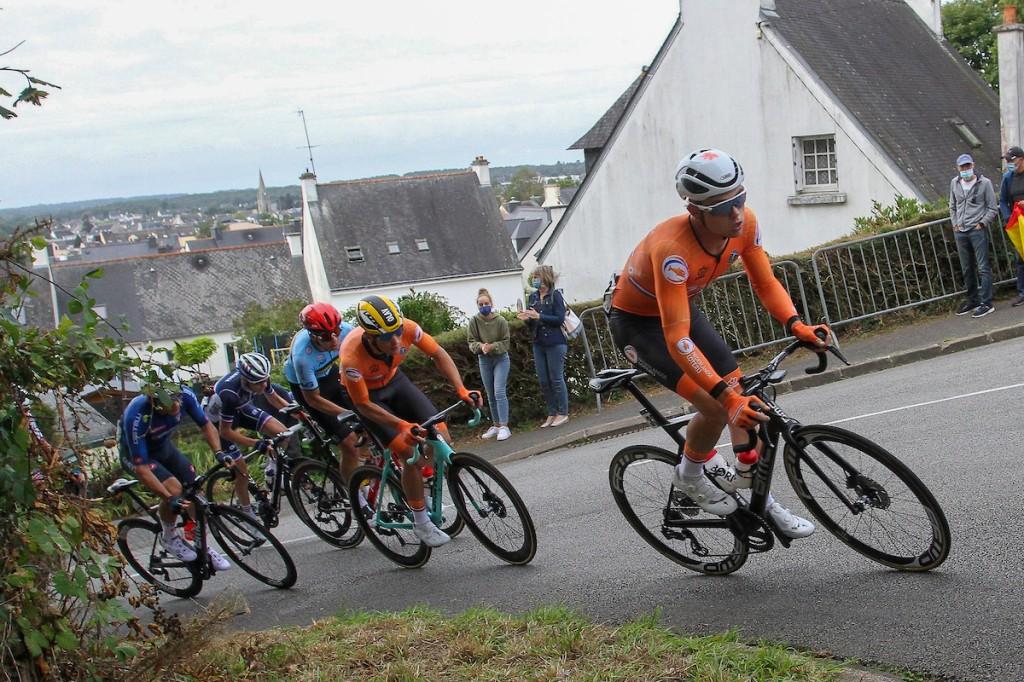 Marijn van den Berg wint in Tour de l'Avenir