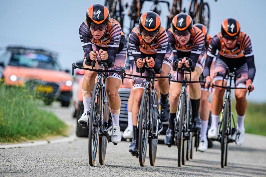 Giro Rosa:Trek-Segafredo voor Boels-Dolmans