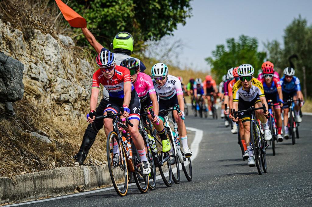 Van der Breggen neemt de leiding in Giro Rosa