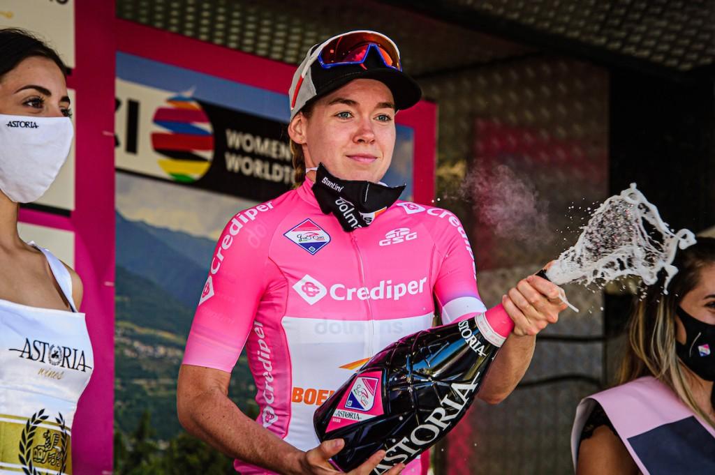 Derde eindzege Giro Rosa Van der Breggen