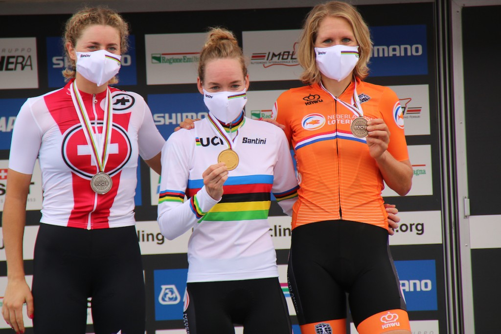 WK Tijdrijden: Van der Breggen wereldkampioen