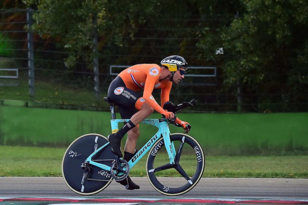 Dumoulin wint zilver op olympische tijdrit