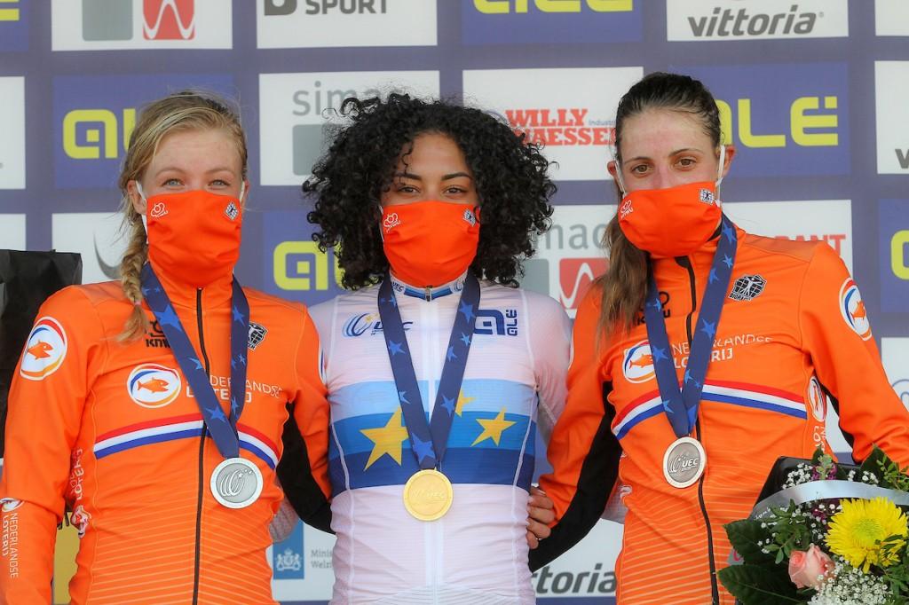 Alvarado is nu ook Europees kampioene (+video)