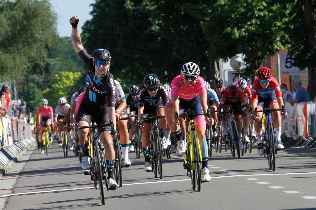 Wiebes schiet ook raak in Lotto Belgium Tour