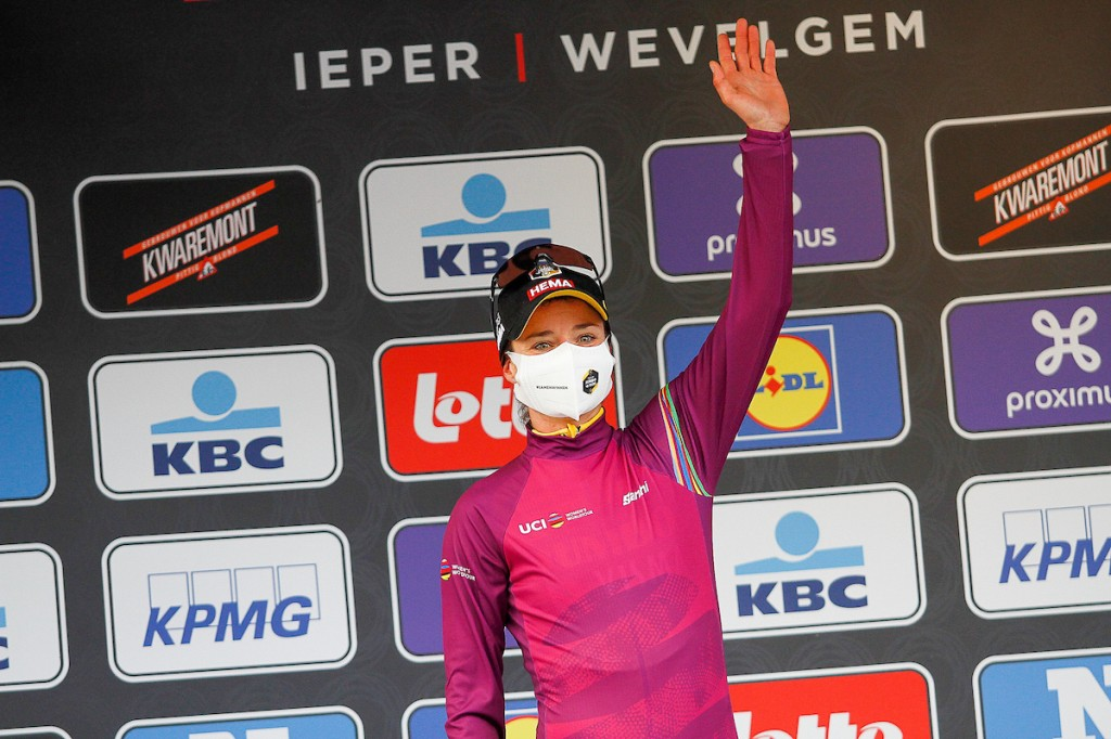 Vos na winst nieuwe leidster Women's WorldTour