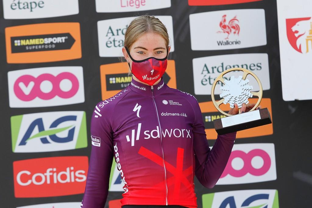 Vollering wint Women's Tour