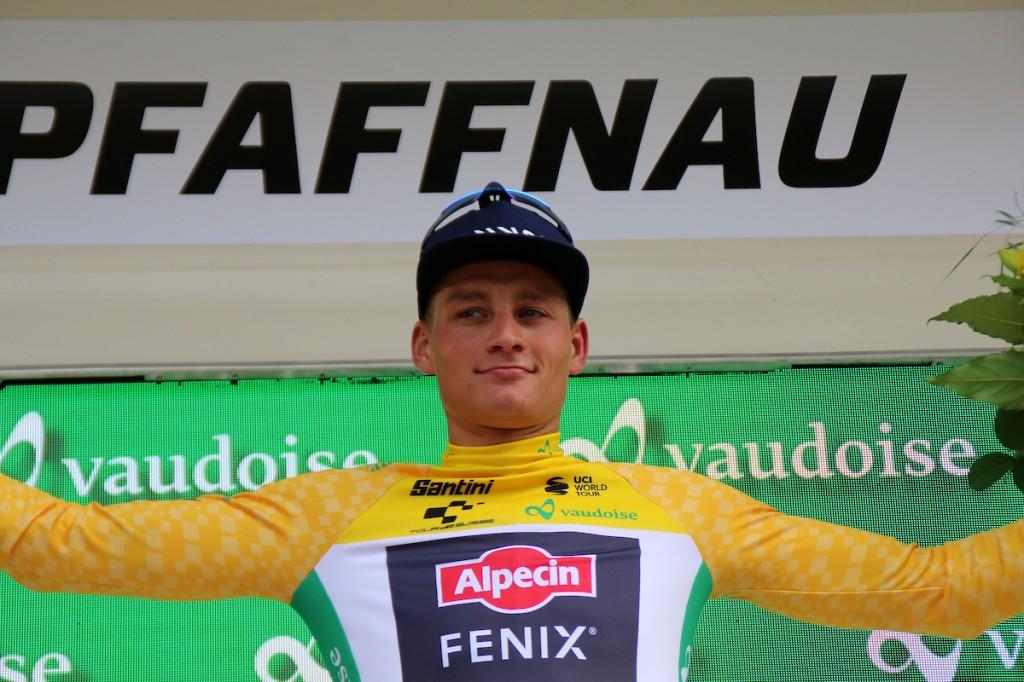 Van der Poel stapt uit Tour de Suisse