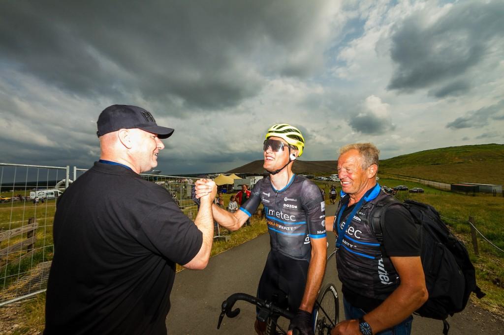 Bax van voren in openingsrit Circuit Ardennes