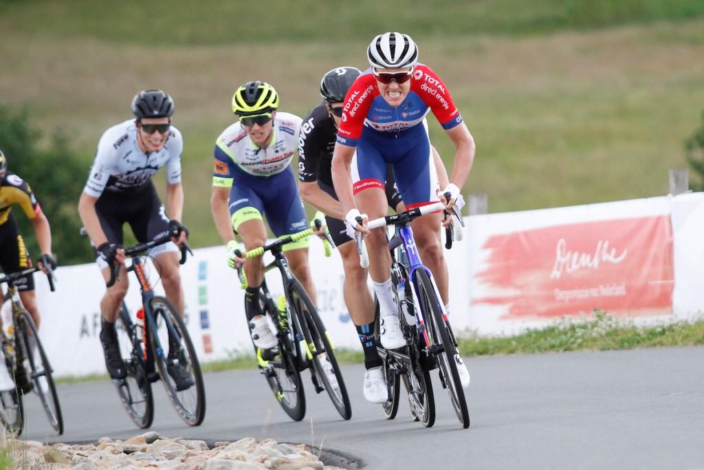 Niki Terpstra op MTB in Bike TransAlp