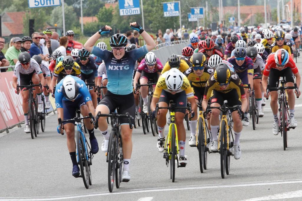 Kool wint in Baloise Ladies Tour