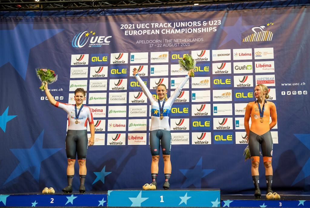 Van der Duin wint brons op EK Afvalkoers