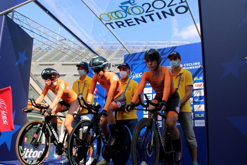 Nederland wint brons op EK Team Relay
