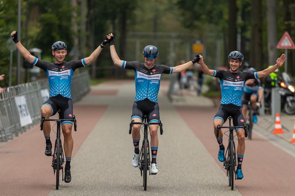 Stevig Nederlands blok in Munsterland Giro