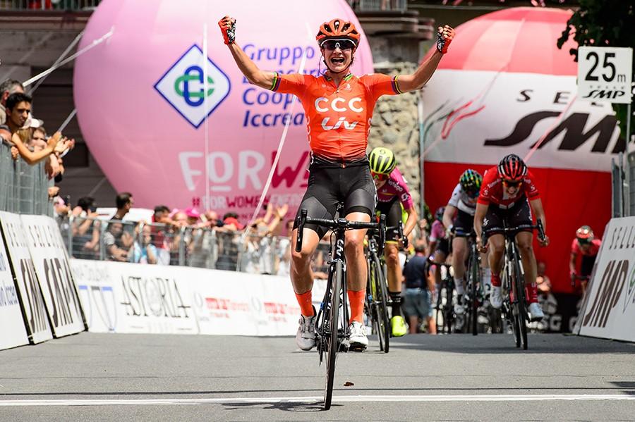Vos wint in Giro Rosa
