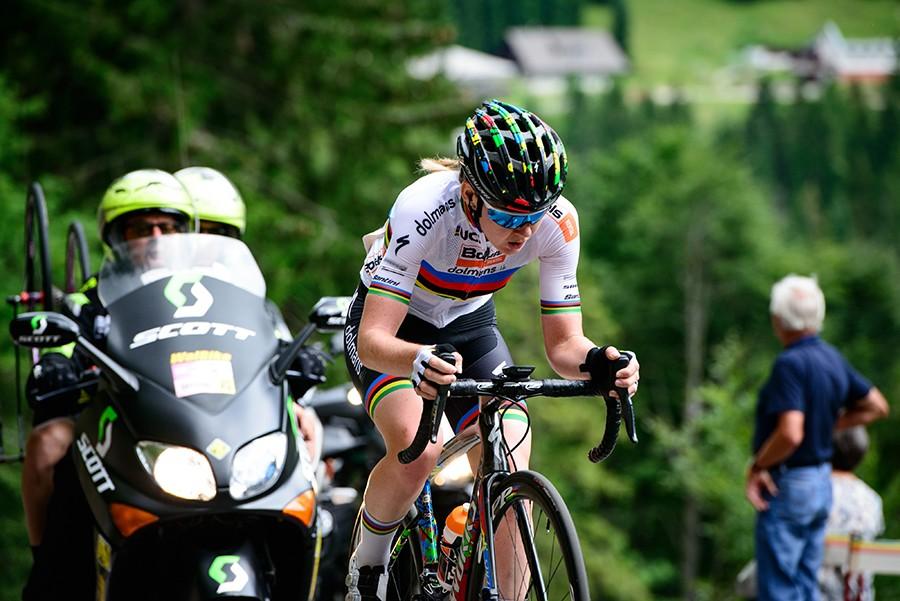 Van der Breggen wint in Giro Rosa