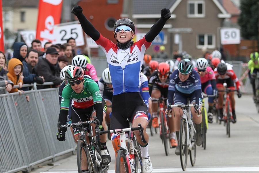Wiebes wint Omloop van het Hageland
