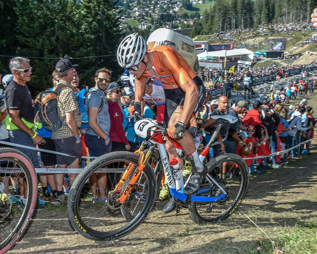 Van der Poel wint shorttrack MTB WB Albstadt