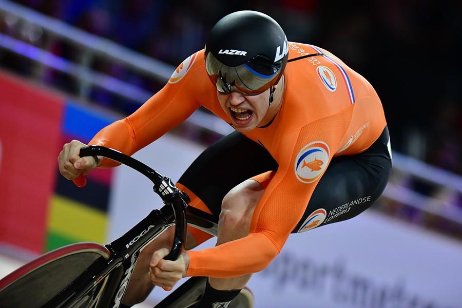 Lavreysen opnieuw wereldkampioen sprint