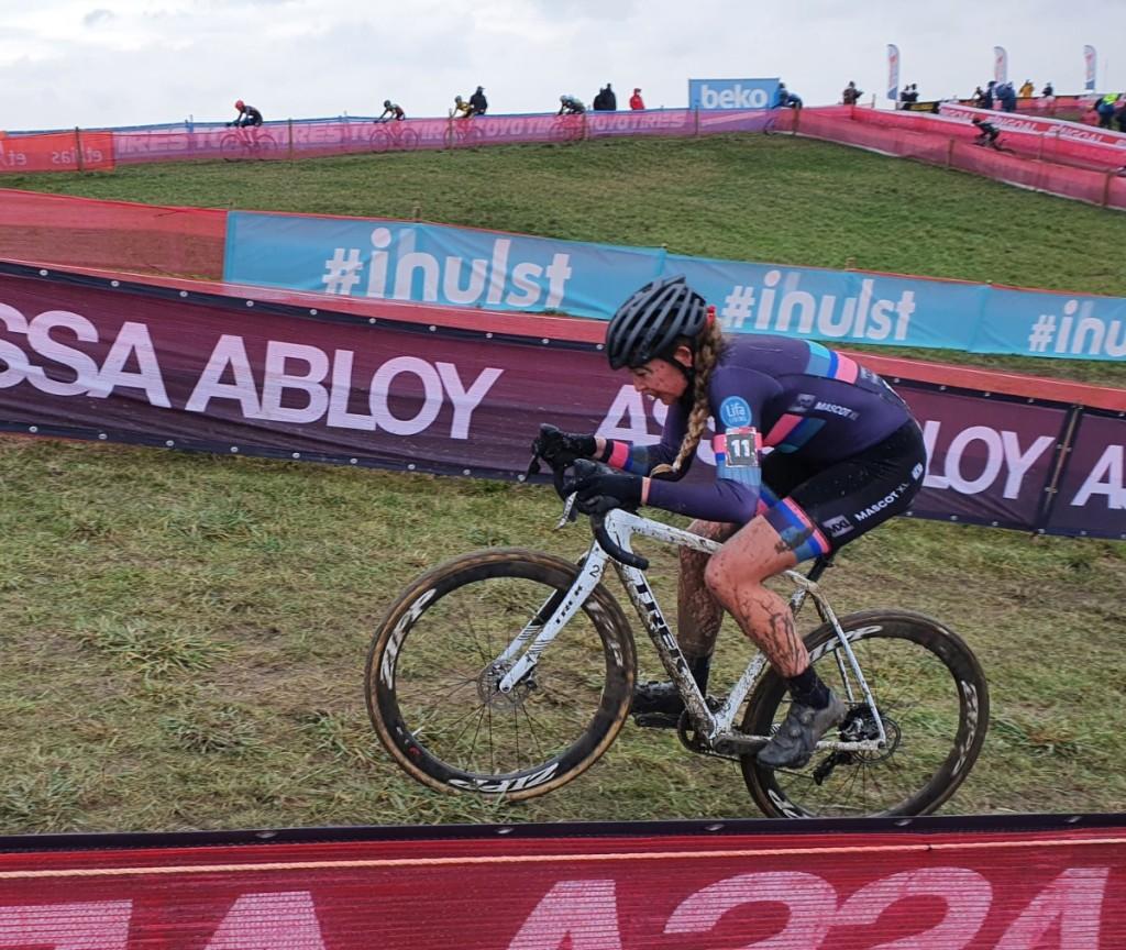Sophie de Boer maakt seizoen af met privésponsor