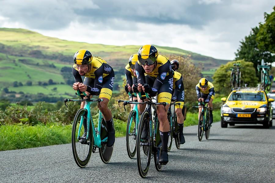 Lotto-Jumbo wint ploegentijdrit Tour of Britain