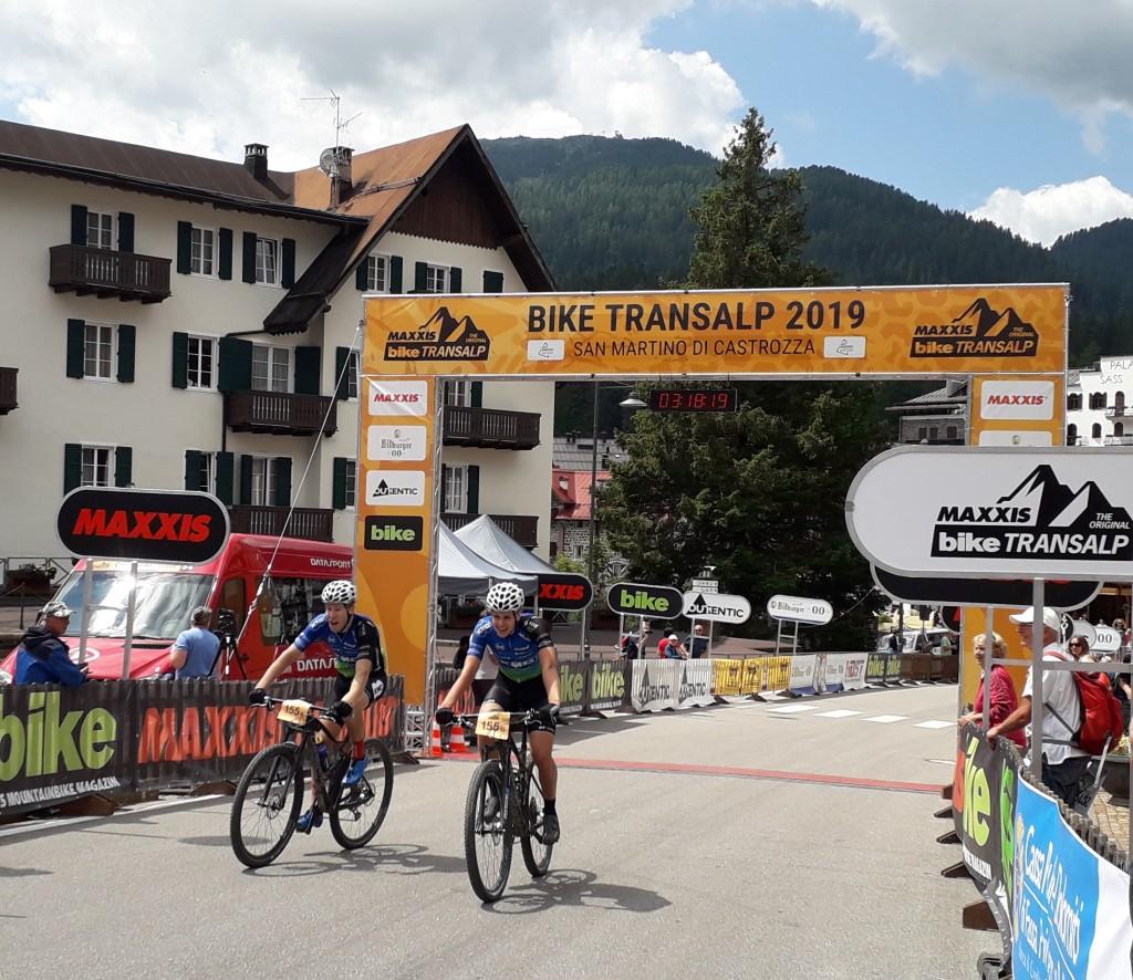 Smeenge-Verhoeven naar Bike TransAlp